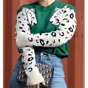VALERIE Leopard Print Sweater